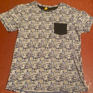 Men's Large Pattern Design Tee